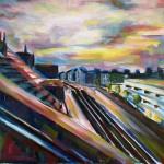 Hamburgerstraße/Dortmund cm 60 x 80 Oil on Canvas (verkauft)