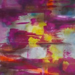pink wind cm 70 x 100 Oil on Canvas