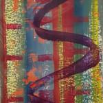 across cm 100x70 Acrylic on Rocketpaper