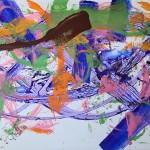 beat it 01 cm 160 x 250 Acryl auf Leinwand