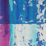 raw5 cm 200 x 70 Acryl auf Papier