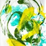 sunlight03 cm 100 x 70 Acryl auf Papier