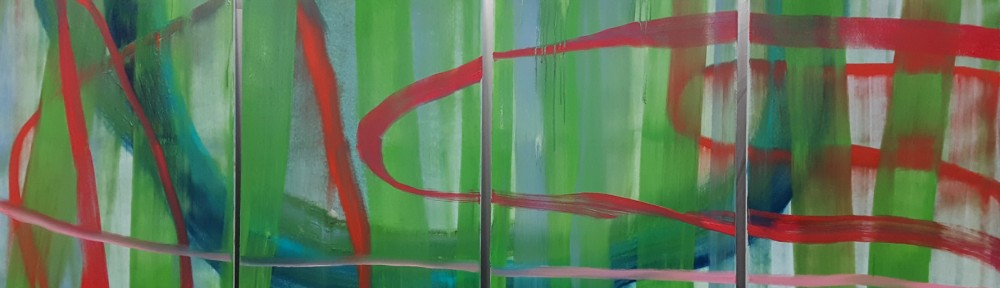 verve 1 cm 280 x 100 Acrylic/ Oil On Canvas