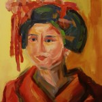 woman_of_the_world2 cm 50 x 60 Oil on Canvas