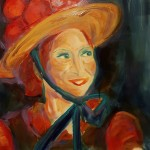woman_of_the_world3 cm 50 x 60 Oil on Canvas