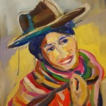 woman_of_the_world5 cm 50 x 60 Oil on Canvas