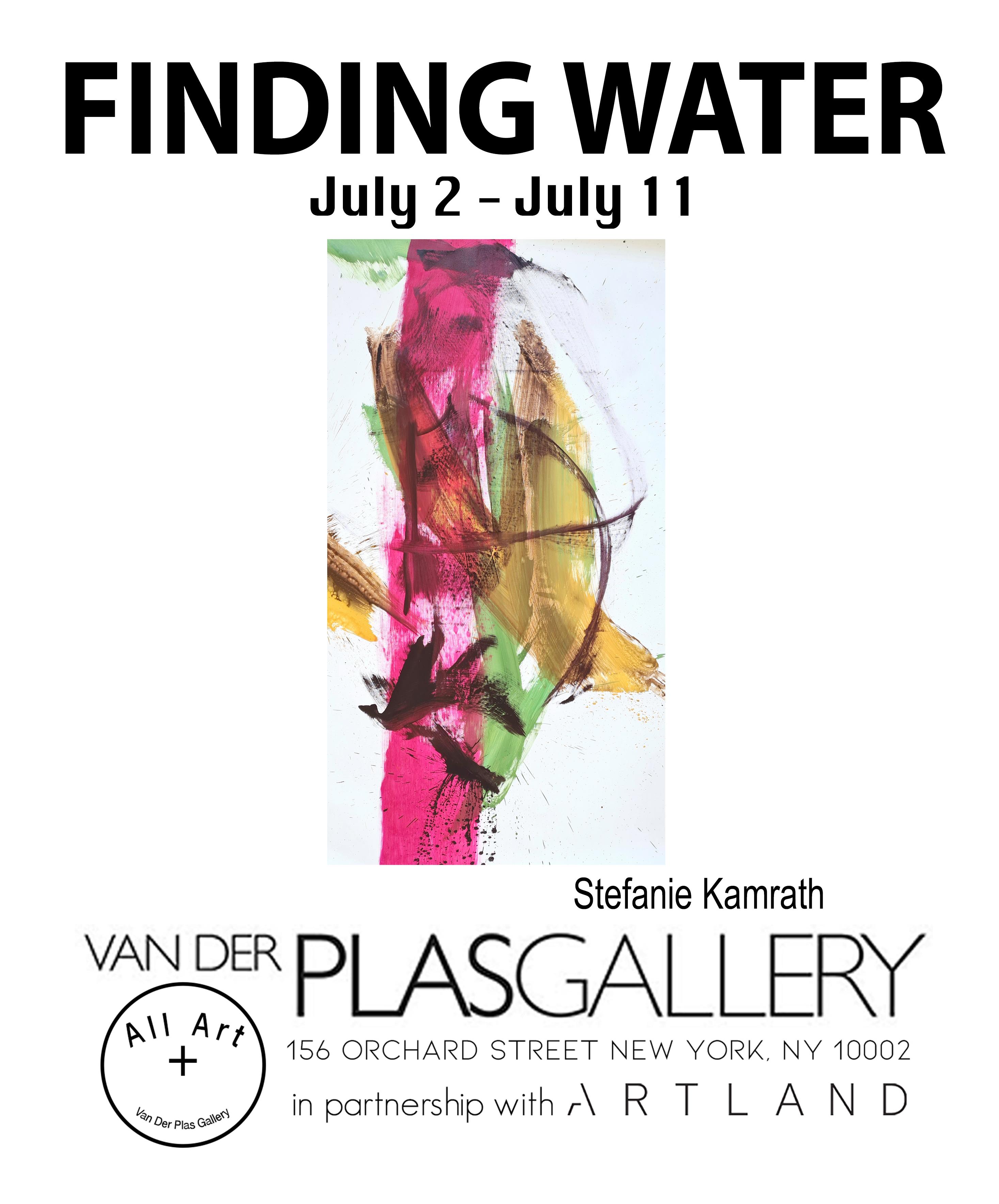 Stefanie Kamrath Finding Water Poster
